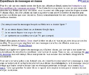 Dossier spam