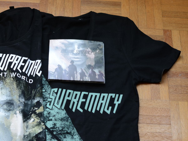 Photo du CD Phantom Shadow sur des tee-shirts Machinae Supremacy