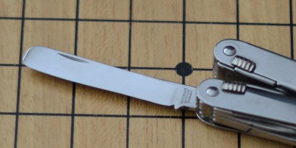 Lame modifiée en spatule